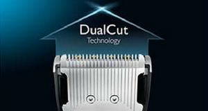 Philips HC7460 klipper mycket snabbt med dual cut teknik
