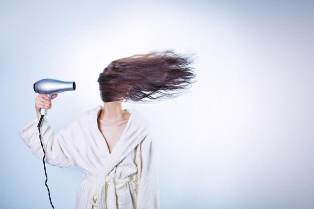 Packa in håret för att höja kvaliteten